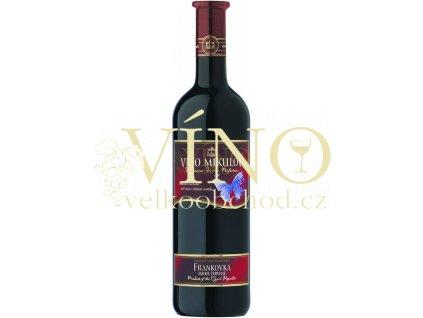 Víno - Víno Mikulov Motýl Frankovka