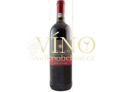 Cantine Volpi Costa al Sole Sangiovese BIO IGT 0,75 L suché italské červené víno z Marche