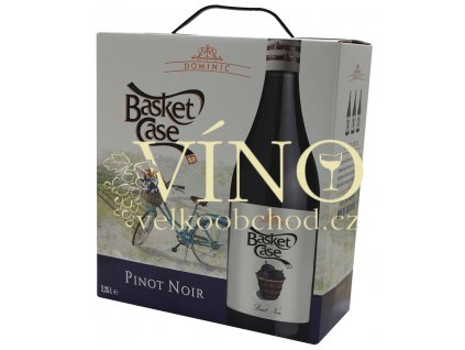 Akce ihned víno Basket Case Pinot Noir 2016 BIB 2.25 l bag in box