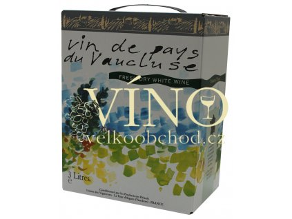 Akce ihned víno Bag in box Marrenon BIB 3 l Fruity bílé suché Francie