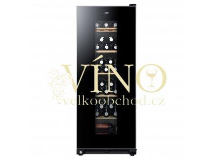 Vinotéka jednozónová chladnička na víno Haier WS59GAE 59 lahví víno jako dárek