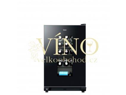 Vinotéka jednozónová chladnička na víno Haier WS32GAE pro 32 lahví, víno jako dárek