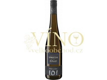 Spreitzer Riesling 101, Qualitätswein halbtrocken 2016