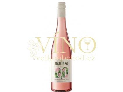Natureo Muscat Rose 0,75 l nealkoholické víno