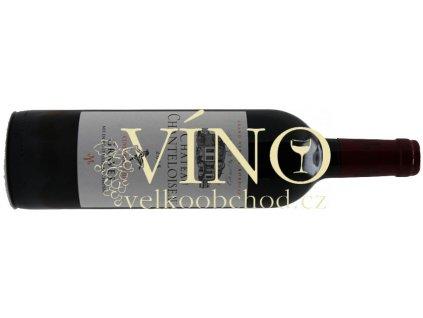 Akce ihned Graves Château Chanteloiseau 2015 Cuvée Jean Jules červené víno Bordeaux
