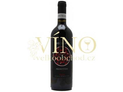 Hieron Primitivo IGT 0,75 l italské červené víno z oblasti Puglia