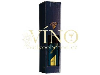 Víno z Kobylí Cuvée Kometa suché v dárkovém balení 0,75 l suché moravské červené víno