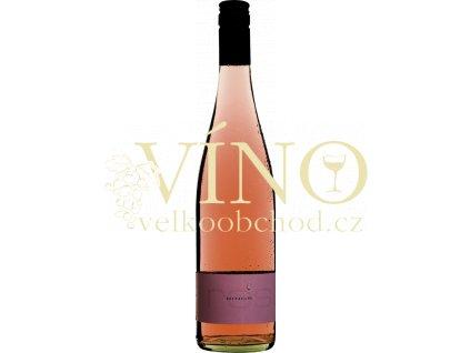 Víno Rings Rosé Qualitätswein trocken 0,75 l