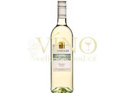 Víno Rivaner, Qualitätswein trocken, Winzergenossenschaft Jechtingen 0,75 l