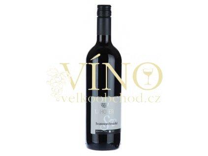 Lahofer André 2017 jakostní 0,75 l suché moravské červené víno 2117