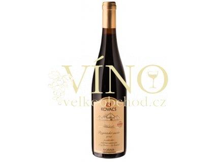Vinařství Kovacs Regentské cuvée Tradiční řada 2015 pozdní sběr 0,75 l polosuché červené víno (35/15)