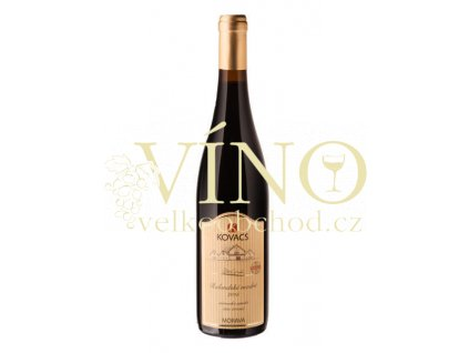 Vinařství Kovacs Rulandské modré Classic 2015 zemské 0,75 l suché červené víno (61/15)