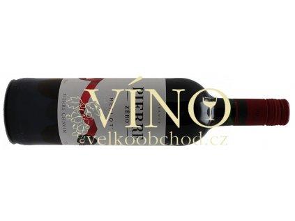 Akce ihned Pierre Zero Nealkoholické víno 0,75 l Merlot