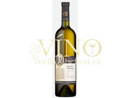 Šlechtitelská stanice vinařská Floriánek Neuburské 2017 jakostní 0,75 l suché bílé víno