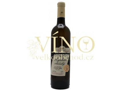 Víno Šimák Ryzlink vlašský 2017 kabinetní 0,75 l polosuché bílé víno