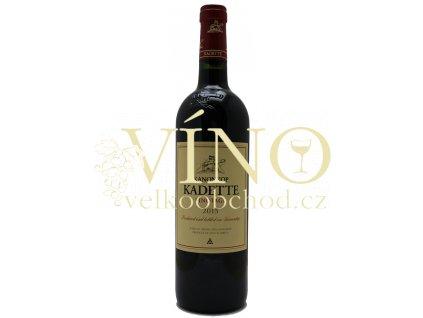 Kanonkop Kadette Pinotage jihoafrické červené víno z oblasti Stellenbosch