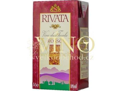 VIVATA TETRA PACK červené polosladké ovocné víno 1 L