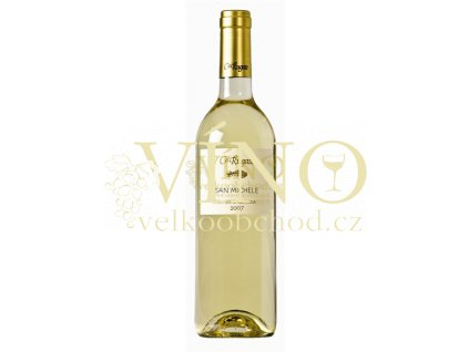 Víno Ca Rugate San Michele Soave Classico DOC 2018 0,375 l italské bílé víno z oblasti Veneto
