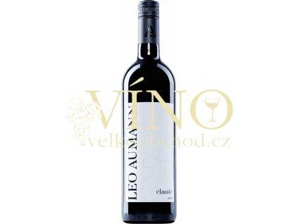 Leopold Aumann Classic (ZW, ME, SL) rakouské červené víno