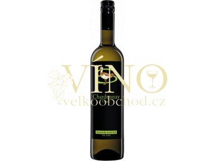 Johann Scheiblhofer Chardonnay Classic rakouské bílé víno
