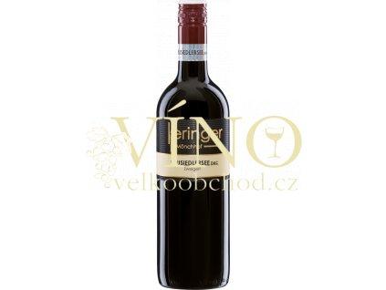 Keringer Zweigelt DAC rakouské červené víno