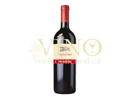 Paternoster Rotondo DOC 0.75 L 2010 italské červené víno z oblasti Basilicata