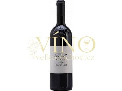 Prunotto Barbera Nizza Bansella DOCG italské červené víno
