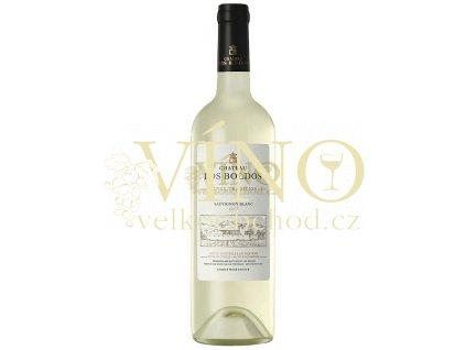 Santa Amalia Chateau Los Boldos Sauvignon Blanc chilské bílé víno z oblasti Rapel Valley