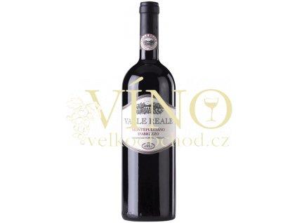 Valle Reale Montepulciano d´Abruzzo DOC  0.75 L 2012 italské červené víno z oblasti Abruzzo