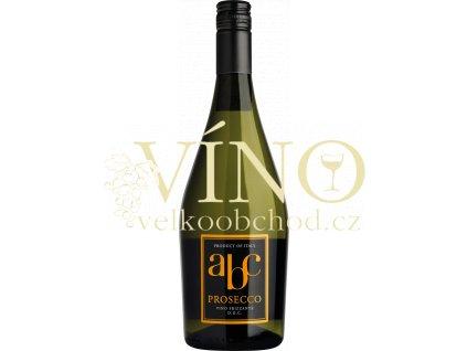 Sacchetto Prosecco ABC italské bílé šumivé víno z oblasti Veneto