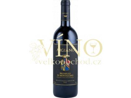 Argiano Brunello di Montalcino italské červené víno z oblasti Toscana
