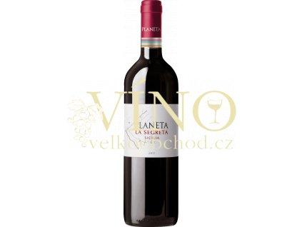 Planeta La Segreta Rosso Sicilia DOP červené italské víno