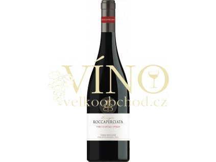 Roccaperciata Nero d'Avola & Syrah Sicilia IGP červené italské víno