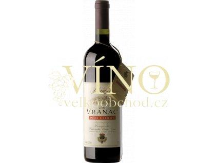 Jul Plantaže Vranac Pro Corde 0,75 L suché černohorské červené víno z Podgorici