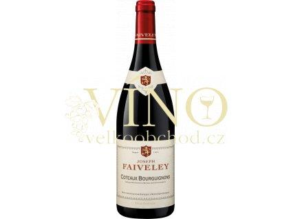 Domaine Faiveley Pinot Noir Coteaux Bourguignons francouzské červené víno