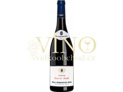 Paul Jaboule Ainé Cotes-du-Rhone AOC Secret de Famille Syrah francouzské červené víno z Cotes du Rhone