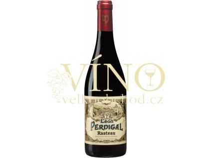 Léon Pedrigal Rasteau francouzské červené víno