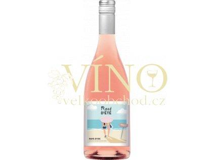 AdVini Rosé D´eté IGP francouské růžové víno
