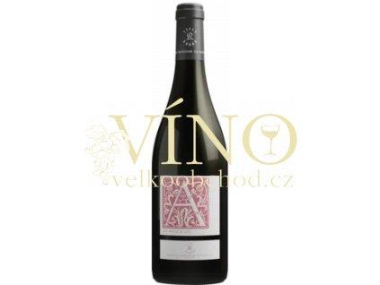 Domaines Barons de Rothschild Lafite Blason d´Aussiéres rouge, Cabernet - Syrah, Corbiéres IGP d´Oc 0,75 L francouzské červené víno