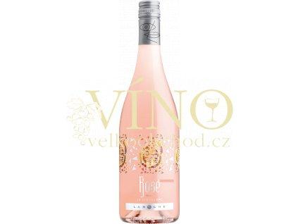 Domaine Laroche Rosé francouzské růžové víno