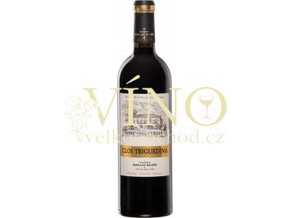 Jean-Luc Clos Triguedina francouské červené víno