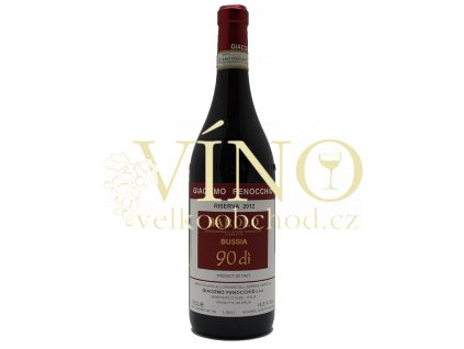 Akce ihned Barolo Bussia Riserva 2012 90di 0,75 l italské červené víno