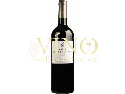 Château Tertre De Courban Bordeaux rouge AOP 0,75 L suché francouzské červené víno