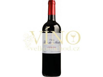 Château Tour du Moulin Fronsac, Bordeaux rouge AOC 0,75 l francouzské červené víno
