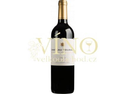 Château Tourans Saint-Emilion Grand Cru 0,75 l francouzské červené víno