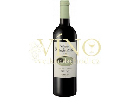 Château Patache d´Aux Haut Médoc Cru Bourgeois Antoine Moueix 0,75 l francouzské červené víno
