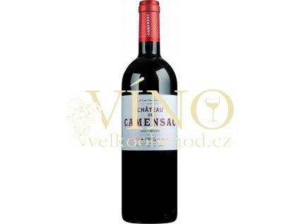 Château Camensac, 5eme Cru Classé 2016 0,75 L suché francouzské červené víno