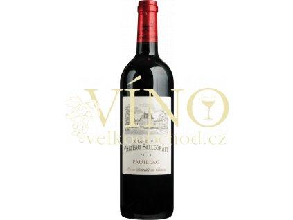 Château Bellegrave Cru Bourgeois 2013 0,75 L suché francouzské červené víno
