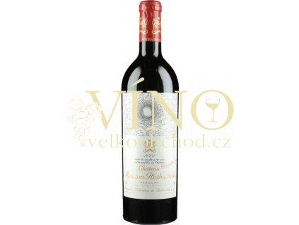 Château Mouton-Rothschild, 1er Cru Classé Pauillac 2002 0,75 l francouzské červené víno