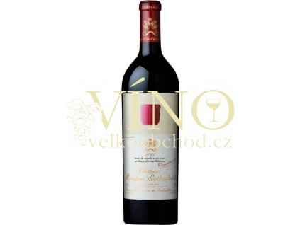 Château Mouton Rothschild 1 er Cru Classé Pauillac 2013 0,75 l francouzské červené víno